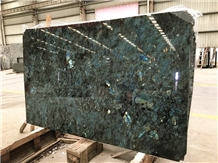 Lemurian Labradorite Blue Granite Tiles Slab