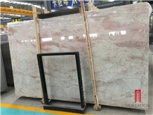 Natural Stone Light Pink Cream Rose Marble Tile