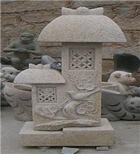 Stone Sculpture Handcrafts Garden Statues