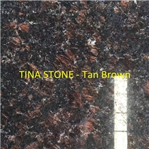Tan Brown Granite Stone in Interior Outdoor Decor