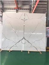 Italy White Marble Flooring Tile Calacatta Gold