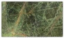 Rainforest Green Marble Slabs & Tiles