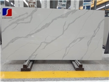 Calacatta White Quartz Stone Artificial Stone Slab