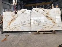 Calacatta Macchia Vecchia Marble Tile Format Italy