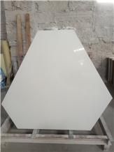 Caesarstone Pure White Quartz Irregular Table Tops