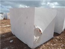 Nimbus Dolomite White Marble Block, Turkey White Marble