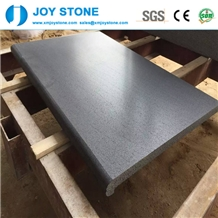 Chinese Cheap Grey Basalt Stone Pool Coping Tiles