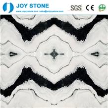 Hot Sale Panda White Marble Hotel Lobby Wall Tiles