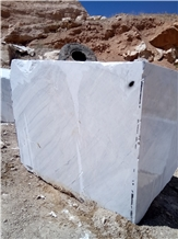 Bianco Perisian Volokas Marble Quarry Blocks,Iran White Stone