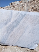 Bianco Persia Marble Quarry Block,Iran White Marble