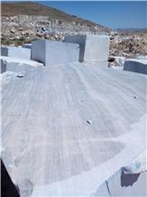 Bianco Persia Marble Quarry Blocks,Iran White Marble