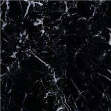Iran Black Snow Galaxy Marble Slab