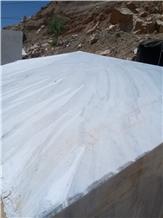 Iran Milan White Persian Marble Blocks in Stock