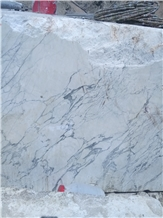 Iran Persian Bianco Arabescato Marble Blocks