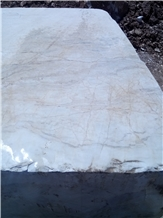 Persian Bianco Carrara Marble Blocks Iran Quarry