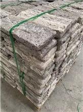 Persian Silver Travertine Tumbled Cube Stone,Cobble Sets,Floor Bricks