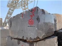 Pietra Grey Marble Block, Iran Gray Marble