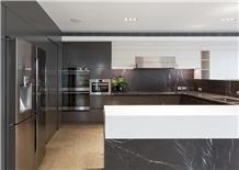 Pietra Grey Marble Kitchen Countertop,Work Top