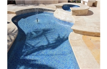 Royal Cream Travertine Swimming Pool Coping Floor Pavers