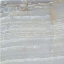 Tf Snow White Onyx Slab, Iran Alabaster Stone
