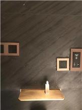 California Black Slate Tiles for Wall Application