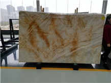 Dubai Gold Marble for Countertop Table