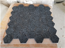 New Design Of Black Terrazzo Mosaic for Floor