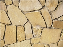 Alcover Sandstone Flagstone for Pavement