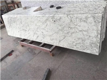 Andromeda White Polished Countertops Table Top