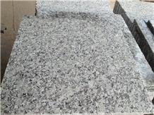 Chinese G439 Big Flower White Granite Slabs Tiles