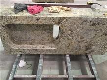 Golden Crystal Countertop, Bar Top