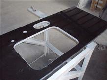Mongolia Black Countertop, Work Top