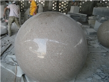Natural Stone Waterfall Outdoor Wall Fountain Ball