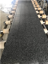Polished Surface Chinese Grey Granite Slabs G654
