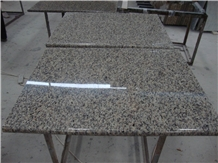 Tiger Skin Yellow China Granite Countertops Desk