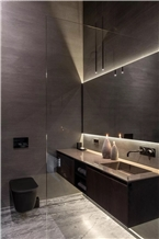 Amotion Gray Marble Bathroom Vanity Tops
