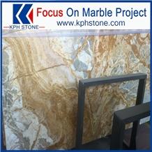 Building Material Dubai Gold Marble Stone