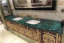 Formosa Green Bathroom Countertops