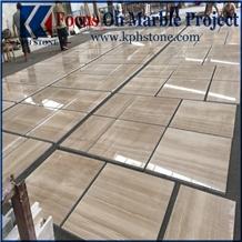 Italian Wood Grain Marble Match Flooring Tiles