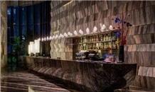 Marron Cappuccino Marble Bar Countertops