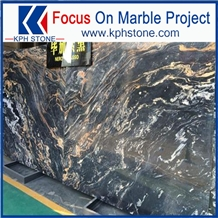 Nero Picasso Marble with Stable Quality