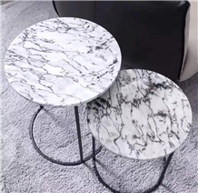 Spider White Marble Cafe Table Tops Countertops