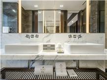 Statuary Marble Bathroom Vanity Tops