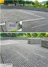 Black Basalt Cobble Stone Cubic Stone Paving Stone Cube Stone