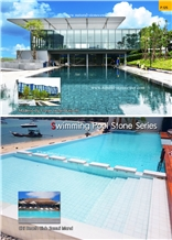 Swimming Pool Stone Pool Terraces Pool Wall Caps