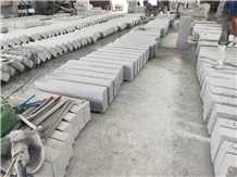 Grey Granite Kerbbstones Flamed