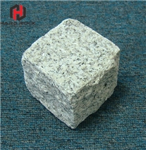 Chinese Granite Light Grey Cube Stone