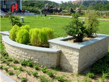 Chinese Natural Granite Outdoor Chairs