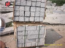 Granite Brick Cube Stone Paver