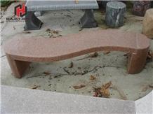 Outdoor Garden Furniture Park Stone Bench Design